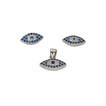 EVIL EYE STERLING SILVER EYE SET