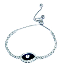 EVIL EYE SILVER BRACELET