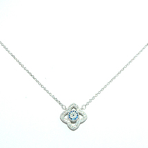 EVIL EYE SILVER CELEBRITY NECKLACE