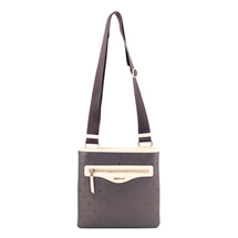 MATMAZEL COFFEE DUAL COLORED MESSENGER BAG