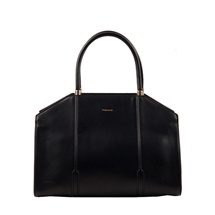 MATMAZEL BLACK STRUCTURED HANDBAG