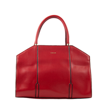 MATMAZEL RED STRUCTURED HANDBAG