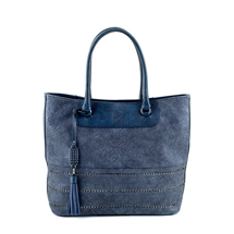 MATMAZEL NAVY BLUE HANDBAG