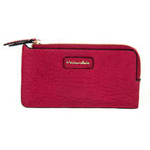 MATMAZEL BURGUNDY CLUTCH HANDBAG
