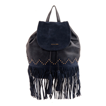 MATMAZEL NAVY BLUE BACKPACK HANDBAG
