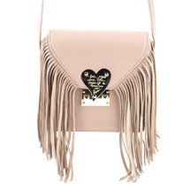MATMAZEL SOIL MESSENGER BAG WITH TASSELS