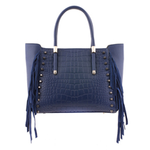 MATMAZEL NAVY BLUE FASHIONABLE HANDBAG