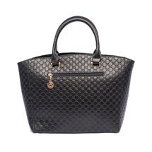MATMAZEL BLACK TEXTURED HANDBAG