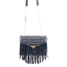 MATMAZEL BLACK PARTY MESSENGER HANDBAG
