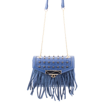 MATMAZEL NAVY BLUE PARTY MESSENGER HANDBAG