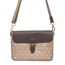MATMAZEL GOLD BROWN LADIES HANGBAG