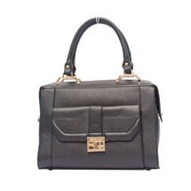 MATMAZEL BLACK HANDBAG WITH POCKET