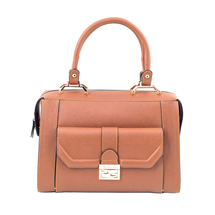 MATMAZEL TABA HANDBAG WITH POCKET